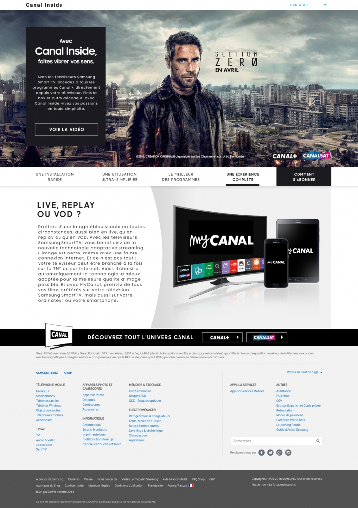 my Canal – Samsung