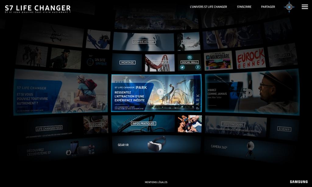 S7 Life Changer – Samsung – Navigation 360°
