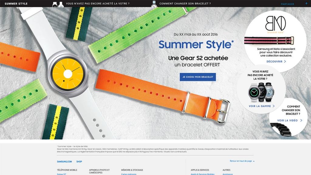 Gear S2 – Samsung