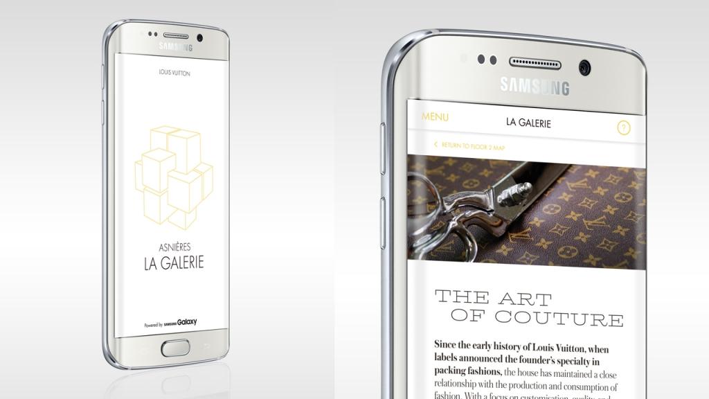 Vuitton – Galerie Asnières – Appli mobile